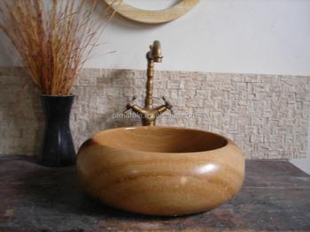 Pfm natuursteen gootsteen hoek stenen wasbak wastafel en