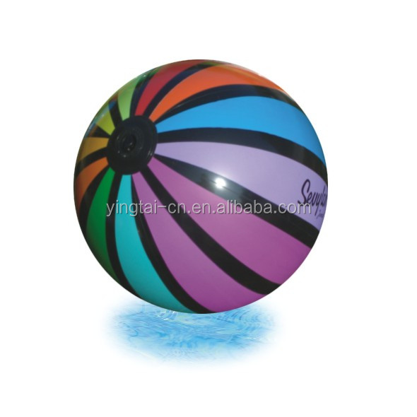 Promotional customized printed pvc inflatable beach ball