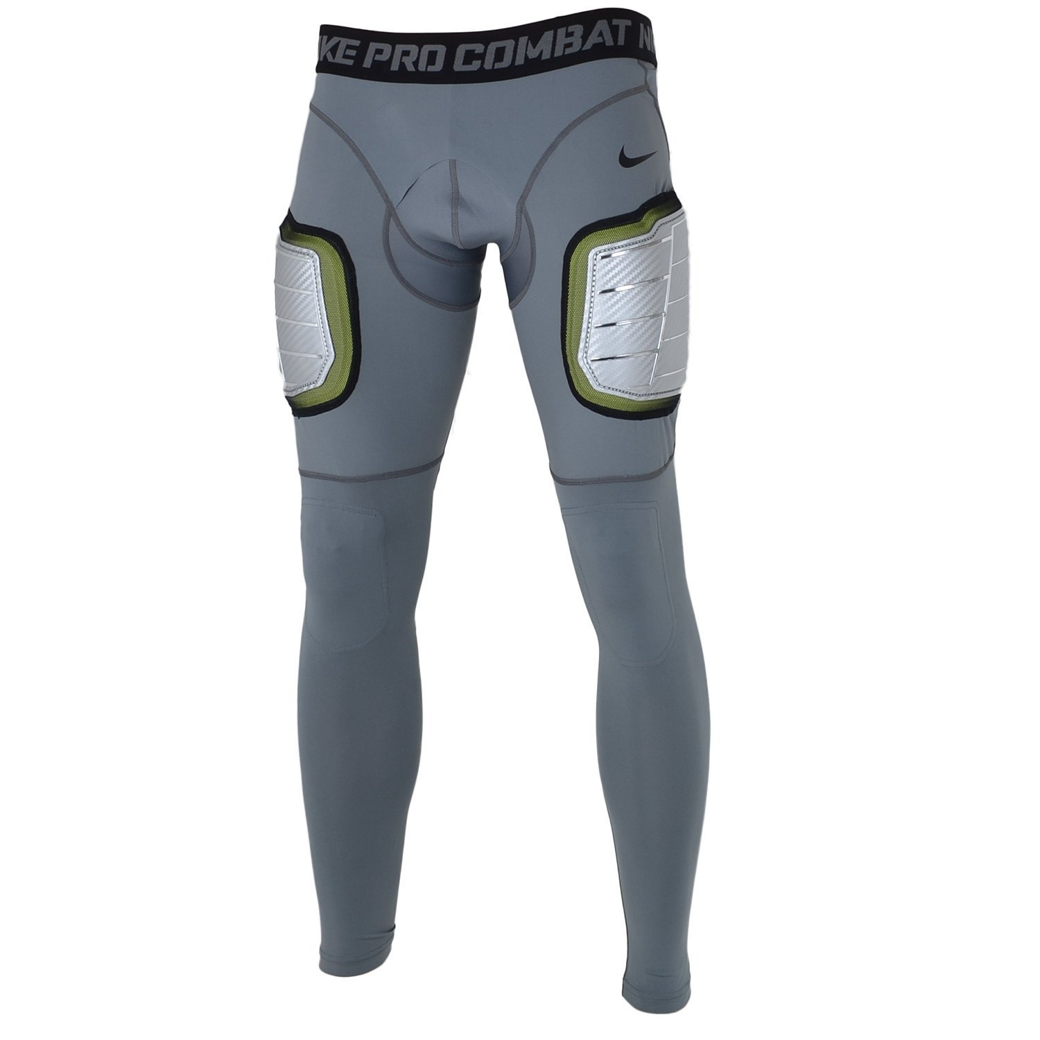 4f440bebe32b6 Buy Nike Mens Pro Hyperstrong Compression Hard Plate Football Tights ...