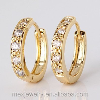 Indian Design Style Rope Design Twisted Silver Gold Hoop Earrings