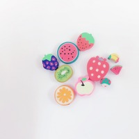 Funny Various Fruit 2D Smell Erasers