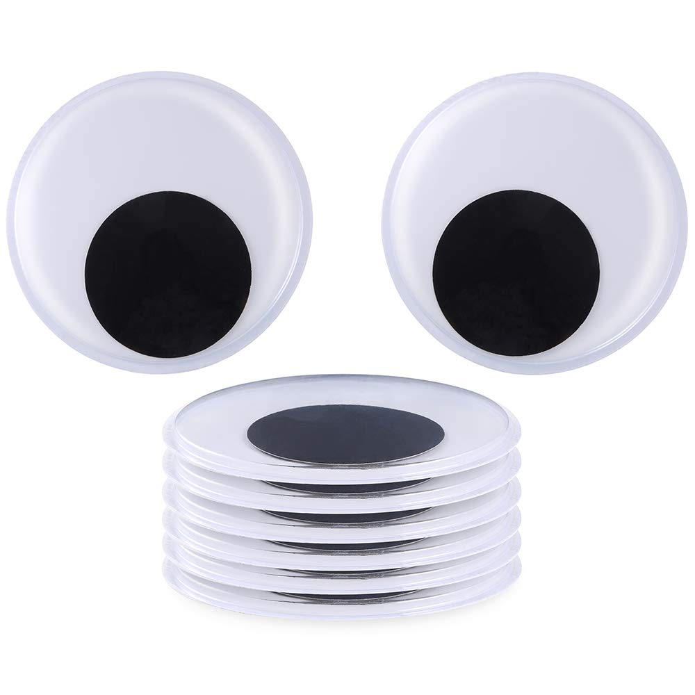 Big Size 4cm Custom Adhesive Wiggle Craft Googly <strong>Eyes</strong>