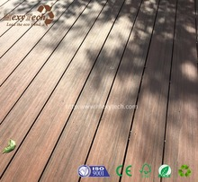 2017 new waterproof co-extrusion wpc timber decking for sale