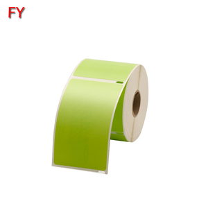 Customized green dymo label printing