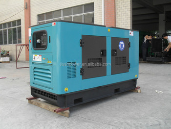 40kva Silent Electric Power Generator Set Genset sel Soundproof 3 Phase on