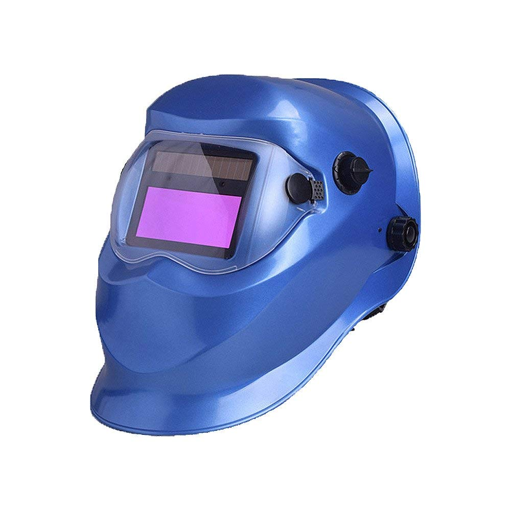Nuzamas Solar Powered Auto Darkening Welding Helmet Mask Weld Face Protection for Arc Tig Mig Grinding Plasma Cutting with Adjustable Shade Range DIN4//9-13 UV//IV protection DIN16 Girl On Fire
