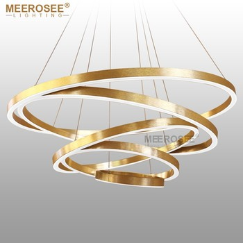 Rings led pendant lights gold hanging lamp modern pendant lighting rings led pendant lights gold hanging lamp modern pendant lighting lamp acrylic circle lampadario lustres lighting mozeypictures Images
