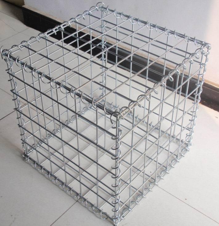 Hot Sale Stainless Steel Wire Gabion Mesh Box / Gabion Wall ...