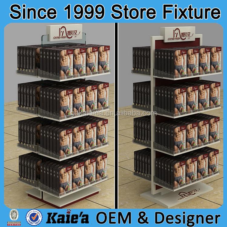 men's underwear display/Underwear Display Rack/Men underwear shop ...