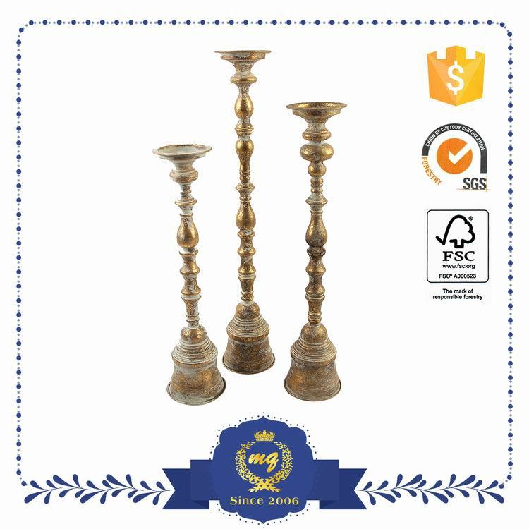 Customized Oem Small Order Accept Garden Metal Tealight Candle Holder