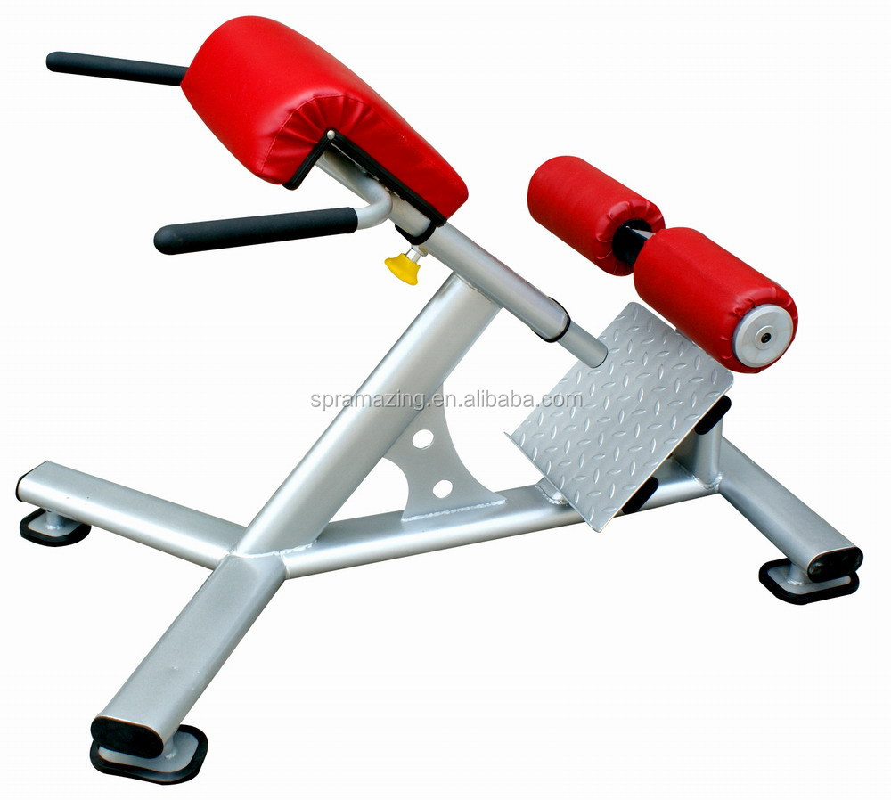 Professional Strength Training Equipment Adjustable Hyperextension Bench  Exercise Machine AMA 6639
