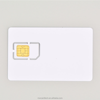 2G 3G 4G LTE Programmable Blank Smart SIM Card