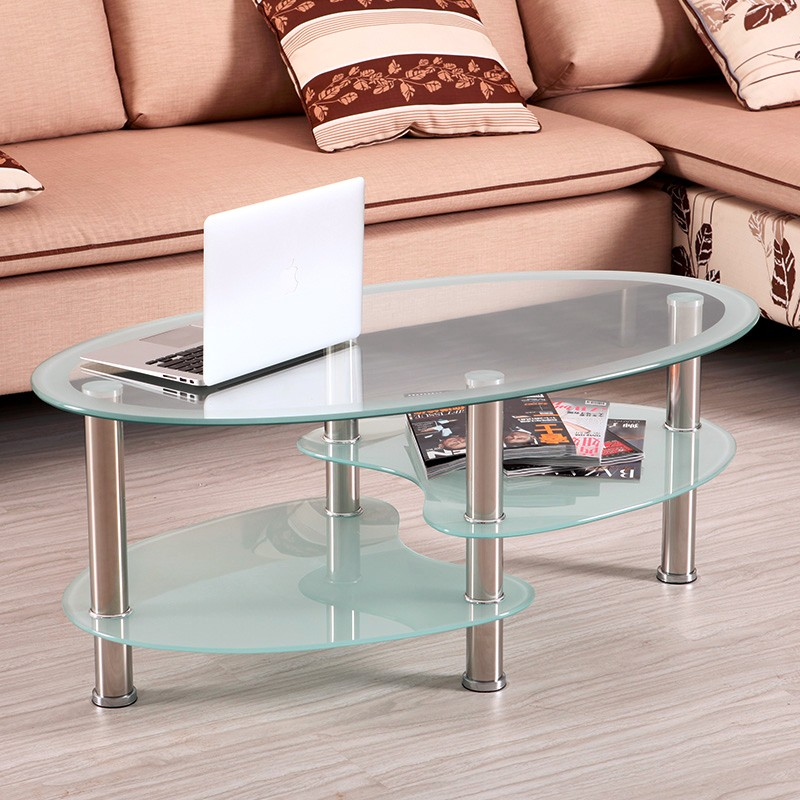 Perspex multifunctional 3 tier glass coffee table buy for Three tier glass coffee table