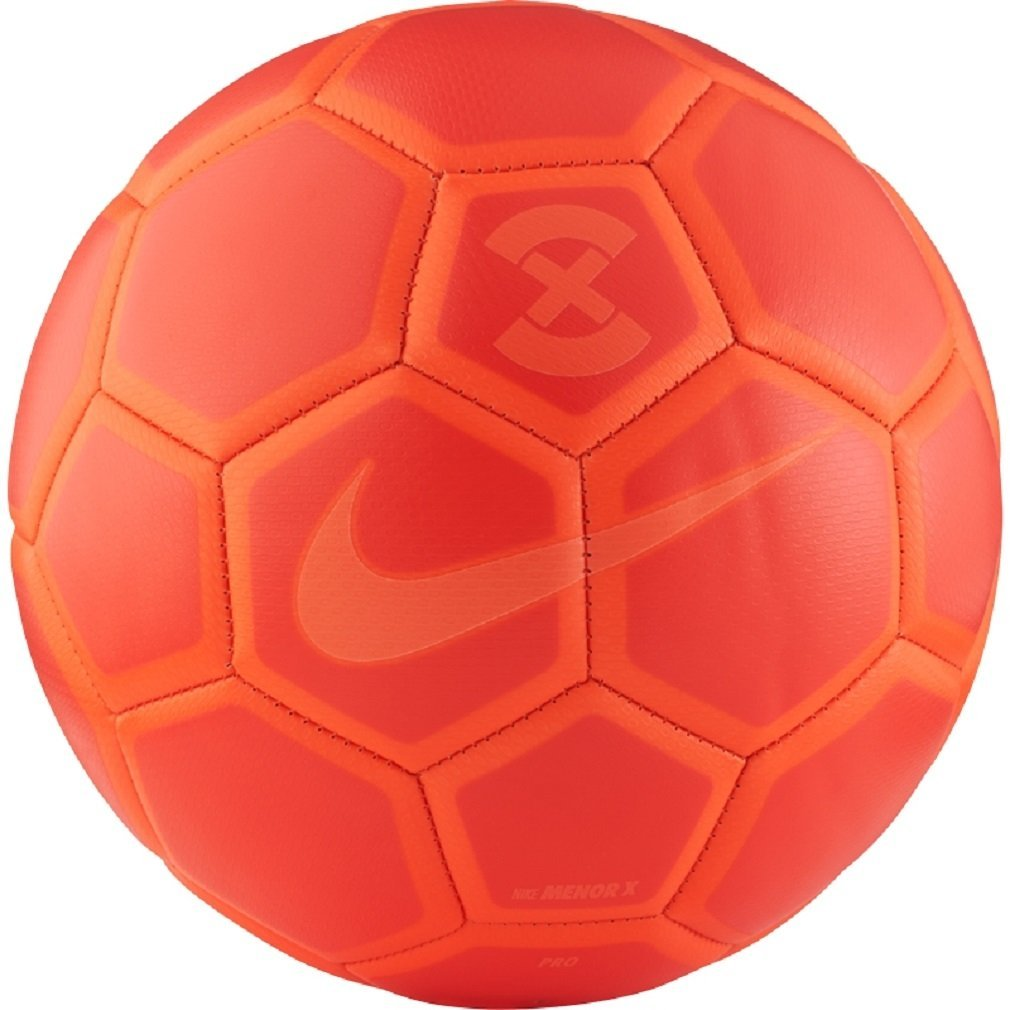 3ce53fb6218 Get Quotations · Nike FootballX Menor Futsal Ball (Bright Crimson) Pro Size