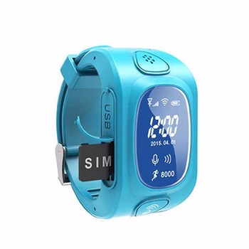 "0.96"" Childrens smart watch kids gps watch tracker free hands call sos gps locator watch"