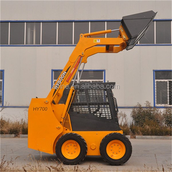 China made high quality mini track skid steer