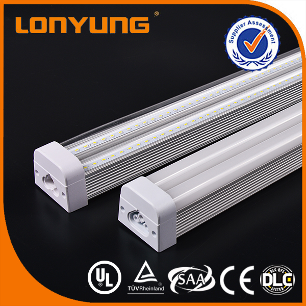Factory Supply 3 Year Warranty 120V 277V cUL UL Led Flashing Tube T5 Light Fixture Integrated 120CM 30W TUV SAA