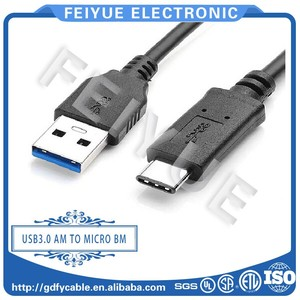 High Quality Reversible 5ft/10ft/100 ft USB Cable 3.1 Type c