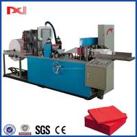 Full automatic 2 colors napkin folding converting machine