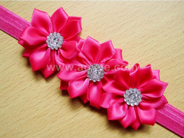The New Flowers Baby Handmade Hair Band Children Hair Accessories ...