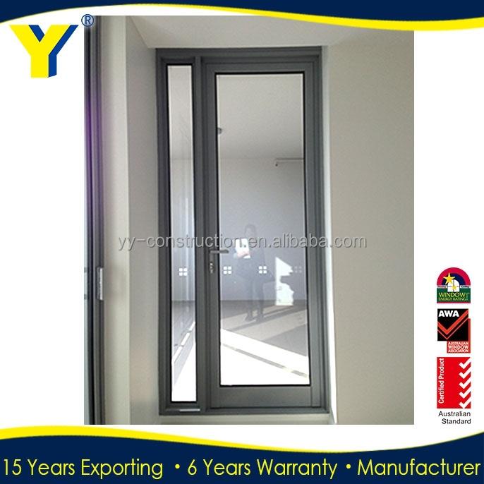 Au puerta de entrada de vidrio puertas y ventanas de for Puertas para oficina