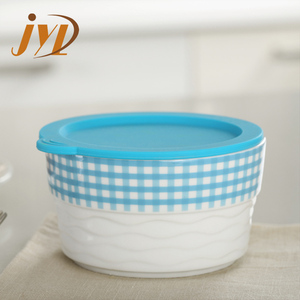 Ceramic material fda stackable mini casserole dish