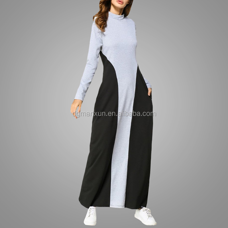 Latest Burqa Design Pictures Muslim Clothing Hot Selling Sport Abaya Dress Comfortable Women Daily Apparel