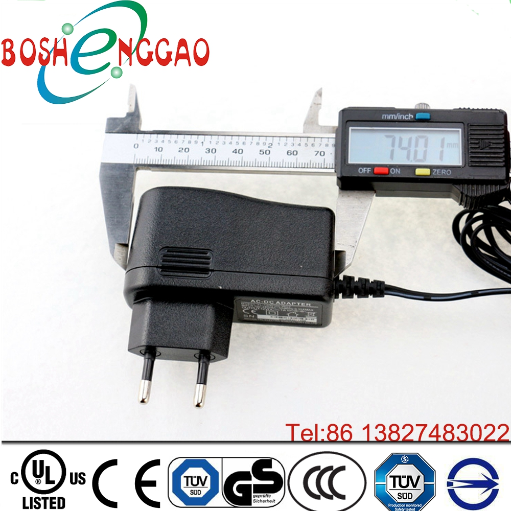 12v 1a Power Adapter Eu Type Adapter Ac/dc 12v Switching Power Supply