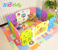 Colorful Baby Play Yard,Children Play Fence,Safety Playpen Baby