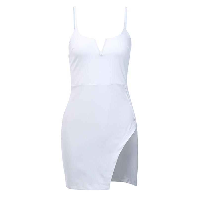 InstaHot сексуальное обтягивающее летнее платье-карандаш на бретелях женское тонкое короткое платье с вырезом лодочкой элегантное платье миди...(Китай)