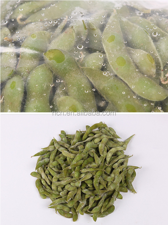 IQF Edamame /soy beans in pods