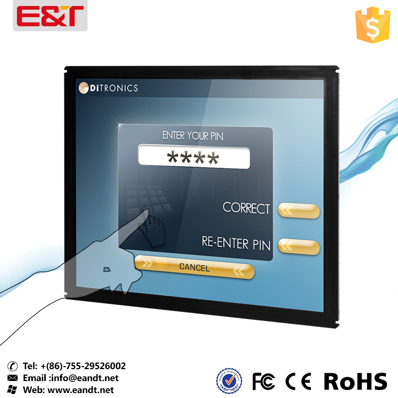 gambling machine touch screen with tempered glass
