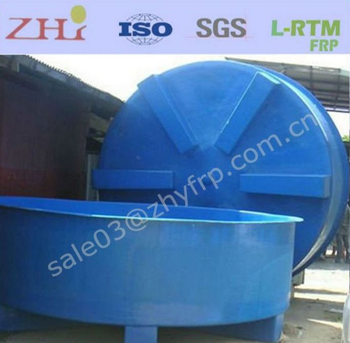 2016 hot fiberglass outdoor fish tanks aquaculture tanks for Outdoor fish for sale