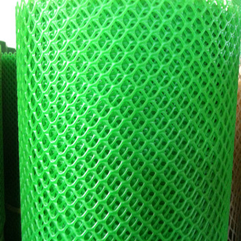 Plastic Windbreak Safety Netting Green Color Hexagonal