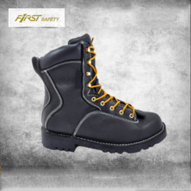 full waterproof tumbled bootie thinsulate logger grain Hydroguard boots Genuine leather Black oily FS1096 3M qw4Ra6a
