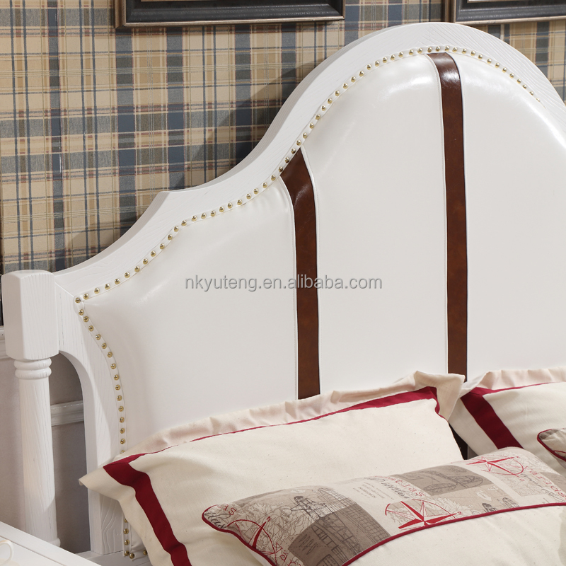 Nankang furniture factory design new American style king size solid wood bed
