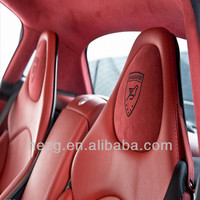 China best PVC leather for car seat cover, largest leather factory