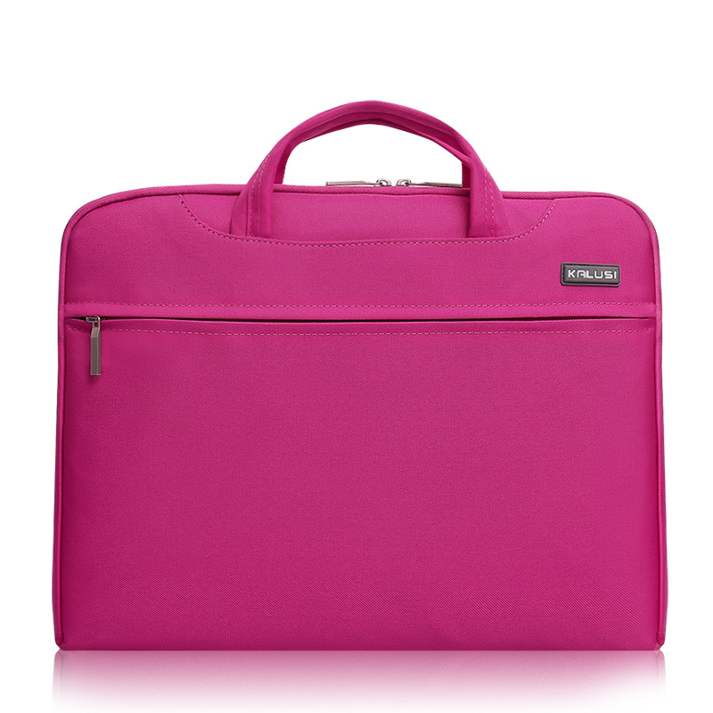 unisex nylon laptop handbag bag/lr pink durable breathable laptop bag/top quality laptop backpack