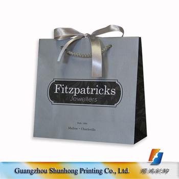 59184072e4 Wholesales luxury silk ribbon paper gift bag, paper bag making paper hand  bag
