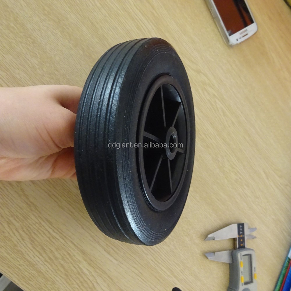 durable small rubber castor wheel 6 inch