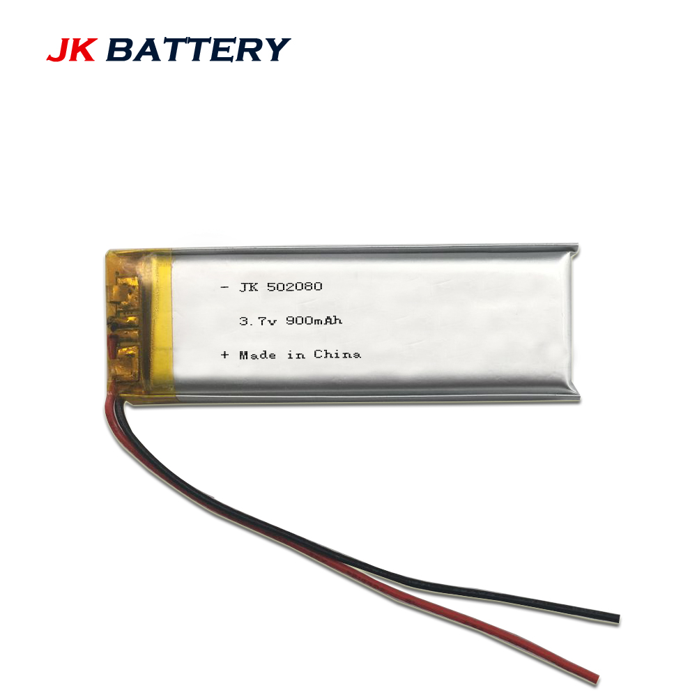 Rechargeable Lipo Battery 37v 900mah 502080 Made In China