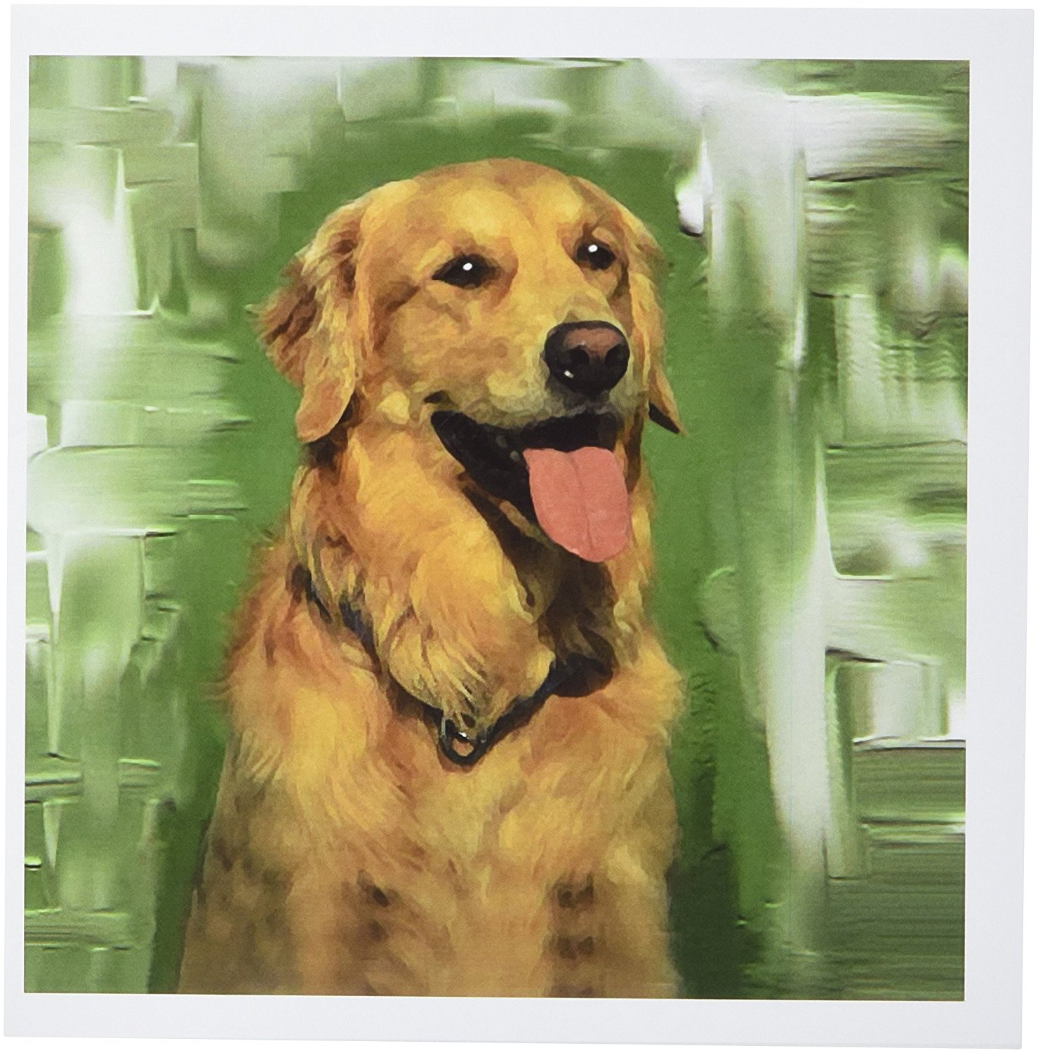 Cheap golden greeting cards find golden greeting cards deals on get quotations 3drose golden retriever greeting cards set of 12 gc40222 m4hsunfo