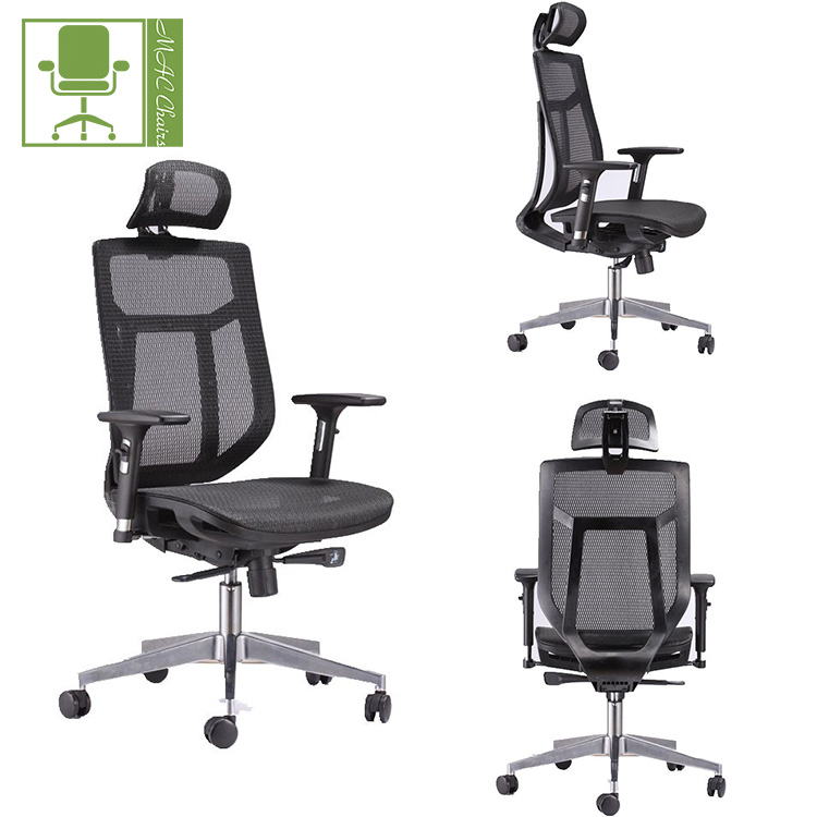 Foshan factory supply ergo reclining full mesh executive chair for wholesale