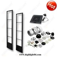 Highlight retail store 8.2MHz RF anti-theft gates R009 eas security alarm system