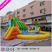 Best quality Huge Amusement Inflatable Water Park , Inflatable Water Parks, Water Park Slides For Sale