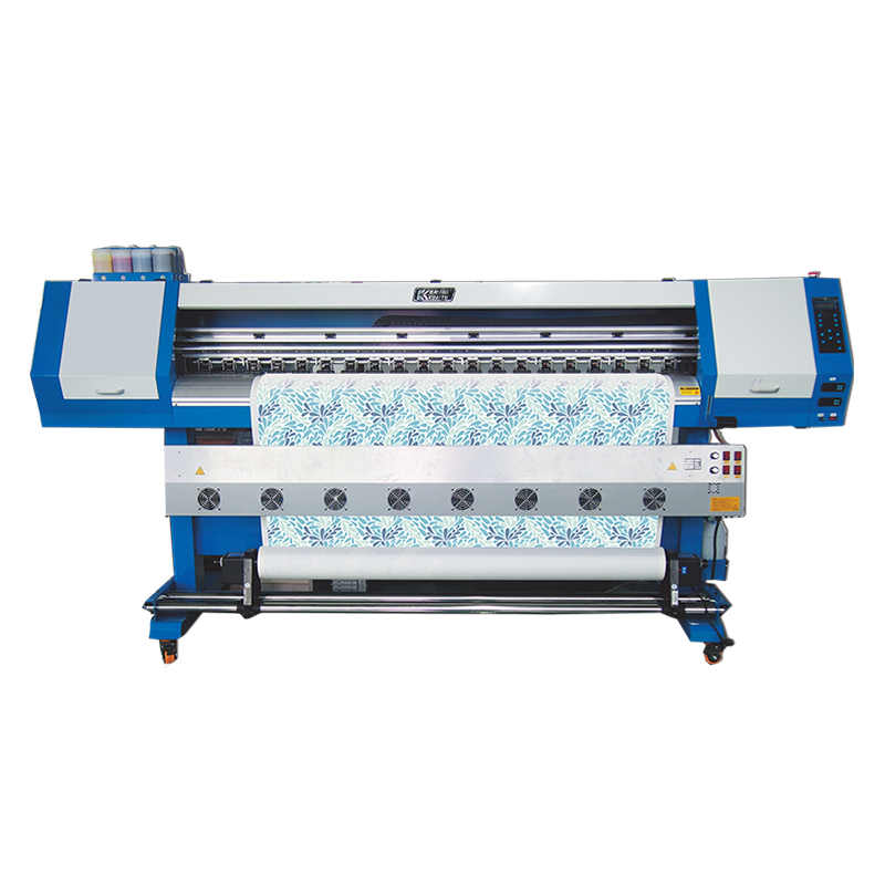 Hoge prestaties grootformaat roll dx5 eco solvent inkt digitale inkjet sublimatie printer op verkoop