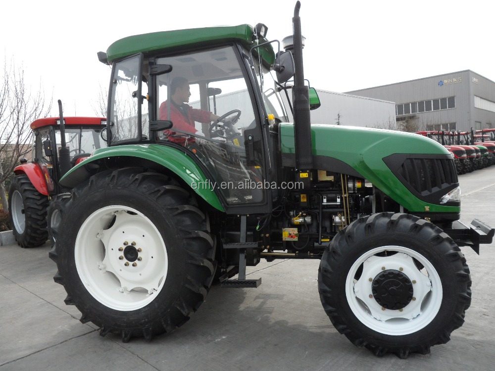90hp farm tractor, wheel tractor, tractor price list