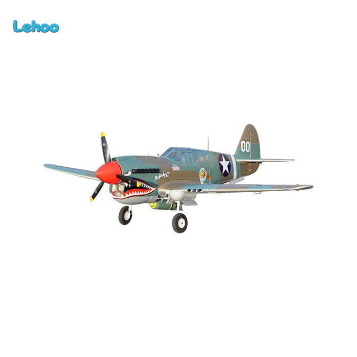 styrofoam Electric war airplane P-40 largest scale RC Airplanes made in china