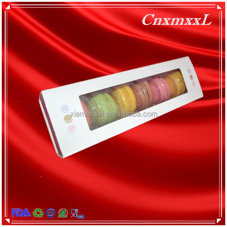 Brand New 6 pcs macarons paper box macaron packaging with great price