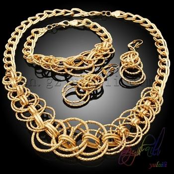 Wholesale Fashion Dubai 18 Carat Gold Jewelry Sets Goldlsutra Designs